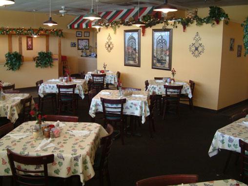 Petrellas Dining Area